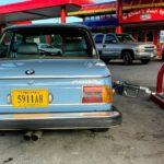 BMW 2002 gas station