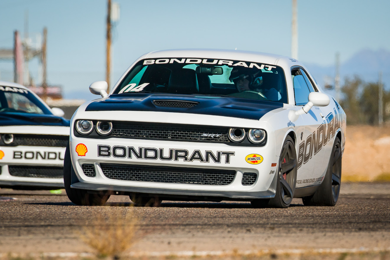 Bondurant Hellcat on Track