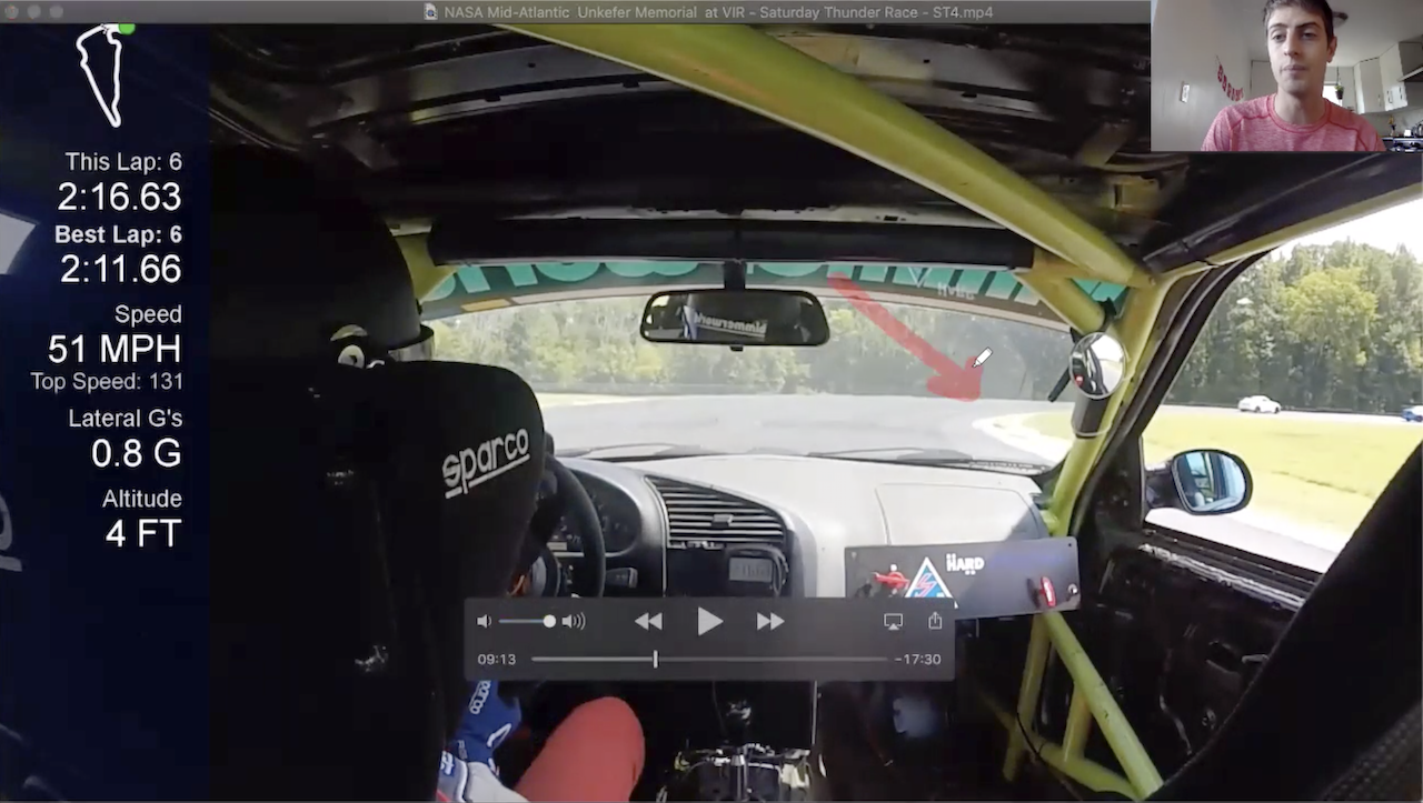 Racers360 Screenshot Arrow