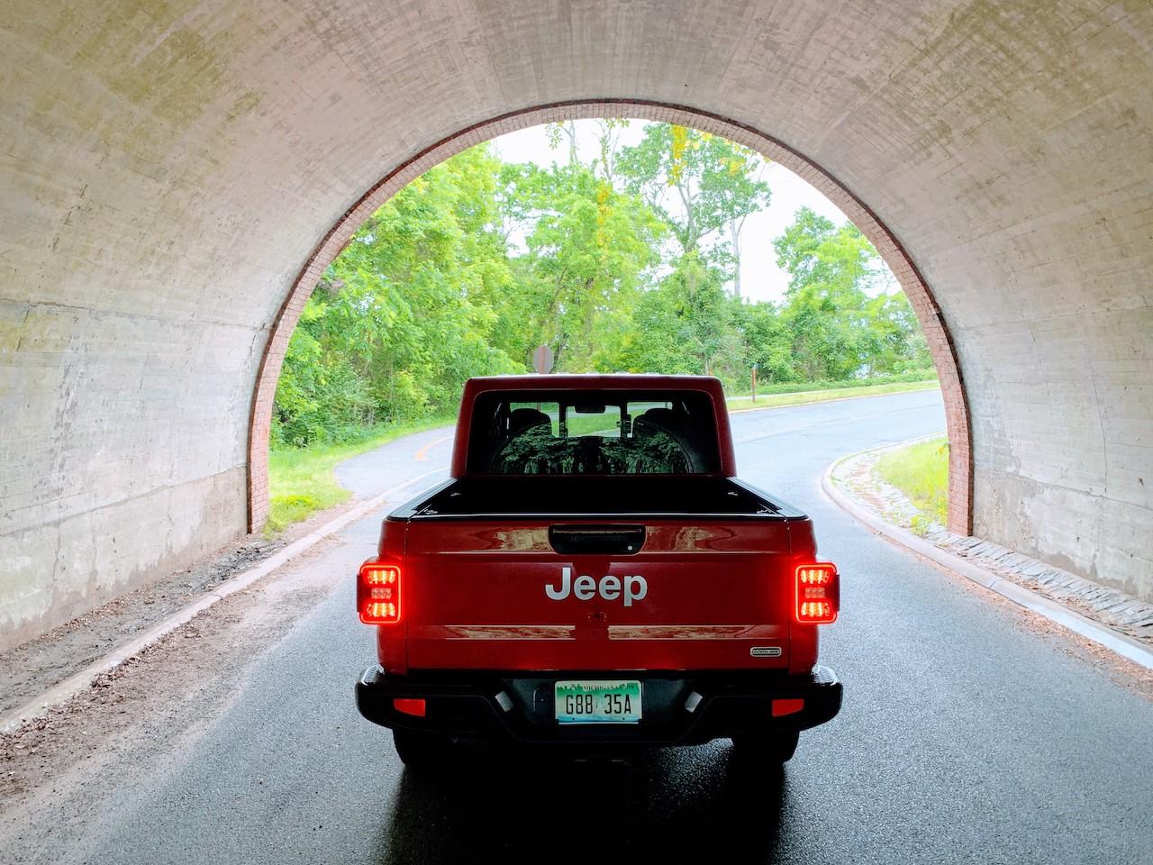 Jeep Gladiator rear