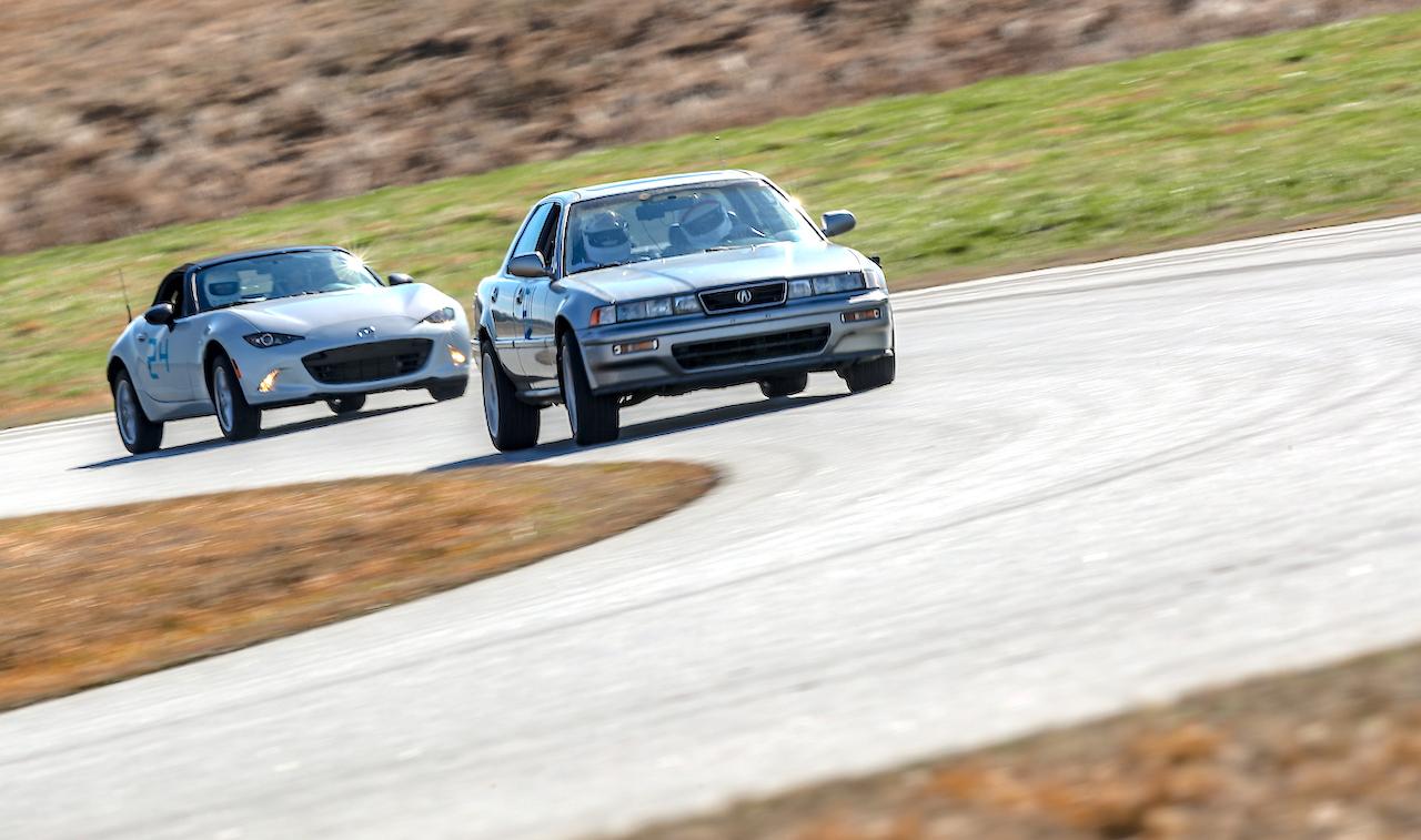 Acura Vigor track day NCCAR