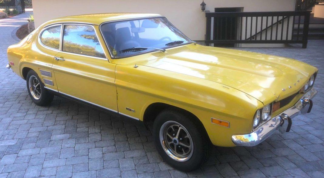 1973 Ford Capri front