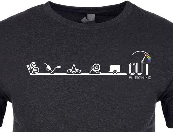 Out Motorsports t-shirt
