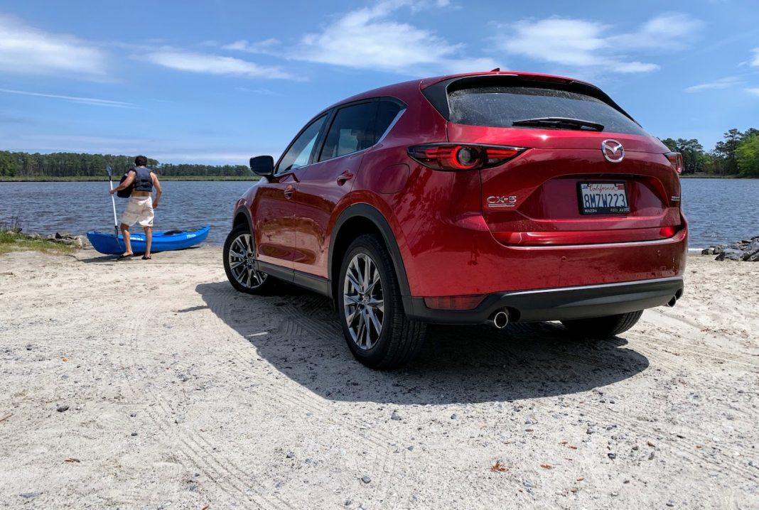 2020 Mazda CX-5 Signature rear