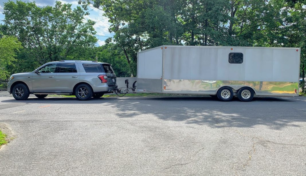 2020 Ford Expedition towing