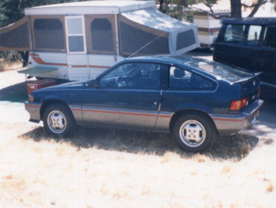 1985 Honda CRX Si Baltic Blue