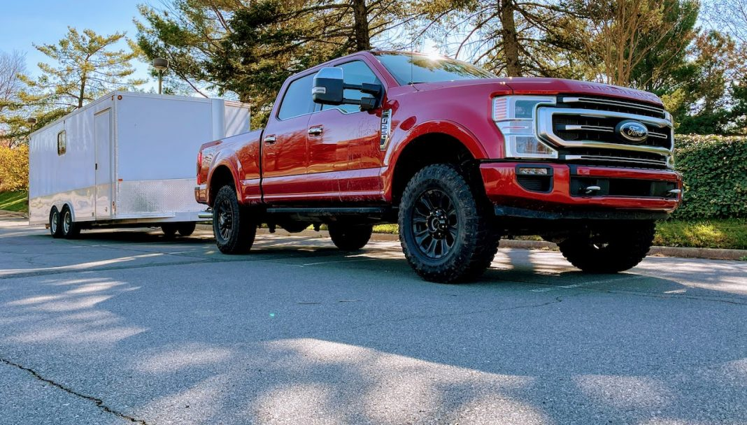Ford F-250 7.3 Tremor towing
