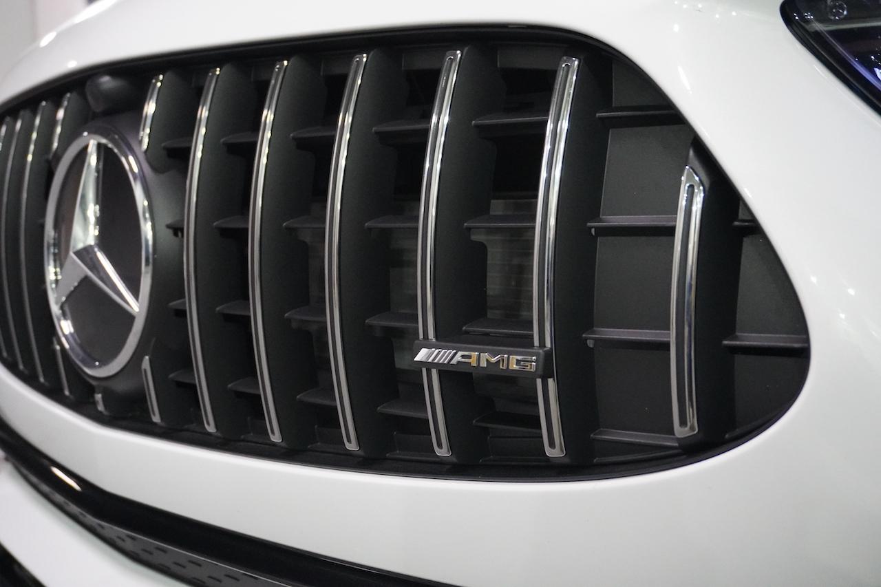 2021 Mercedes-AMG GLA 35 grille