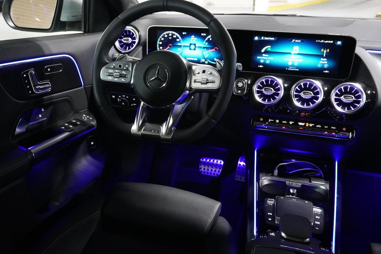 2021 Mercedes-AMG GLA 35 interior ambient lighting