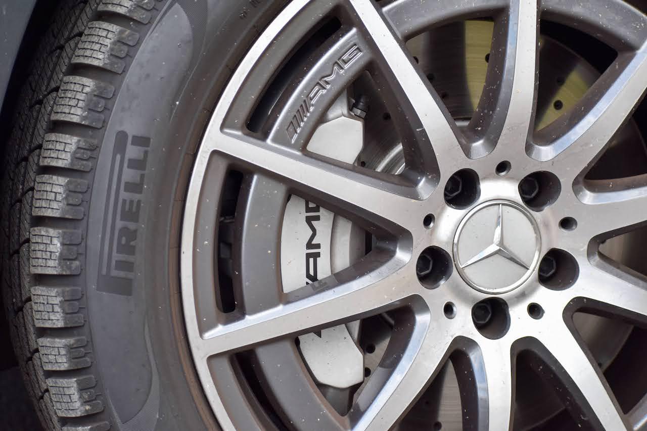 2021 Mercedes-AMG GLA 35 wheel
