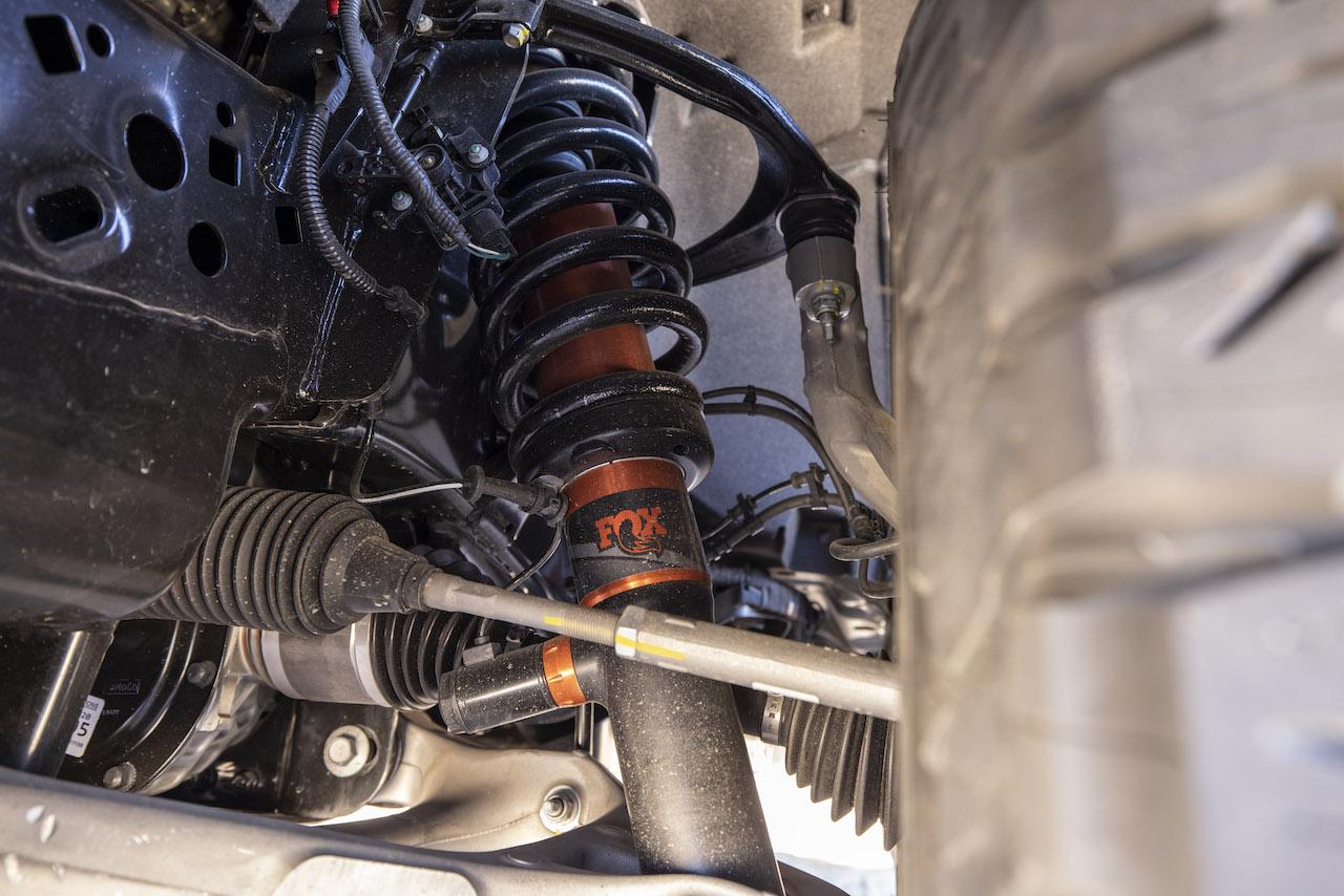 2021 Ford F-150 Raptor suspension