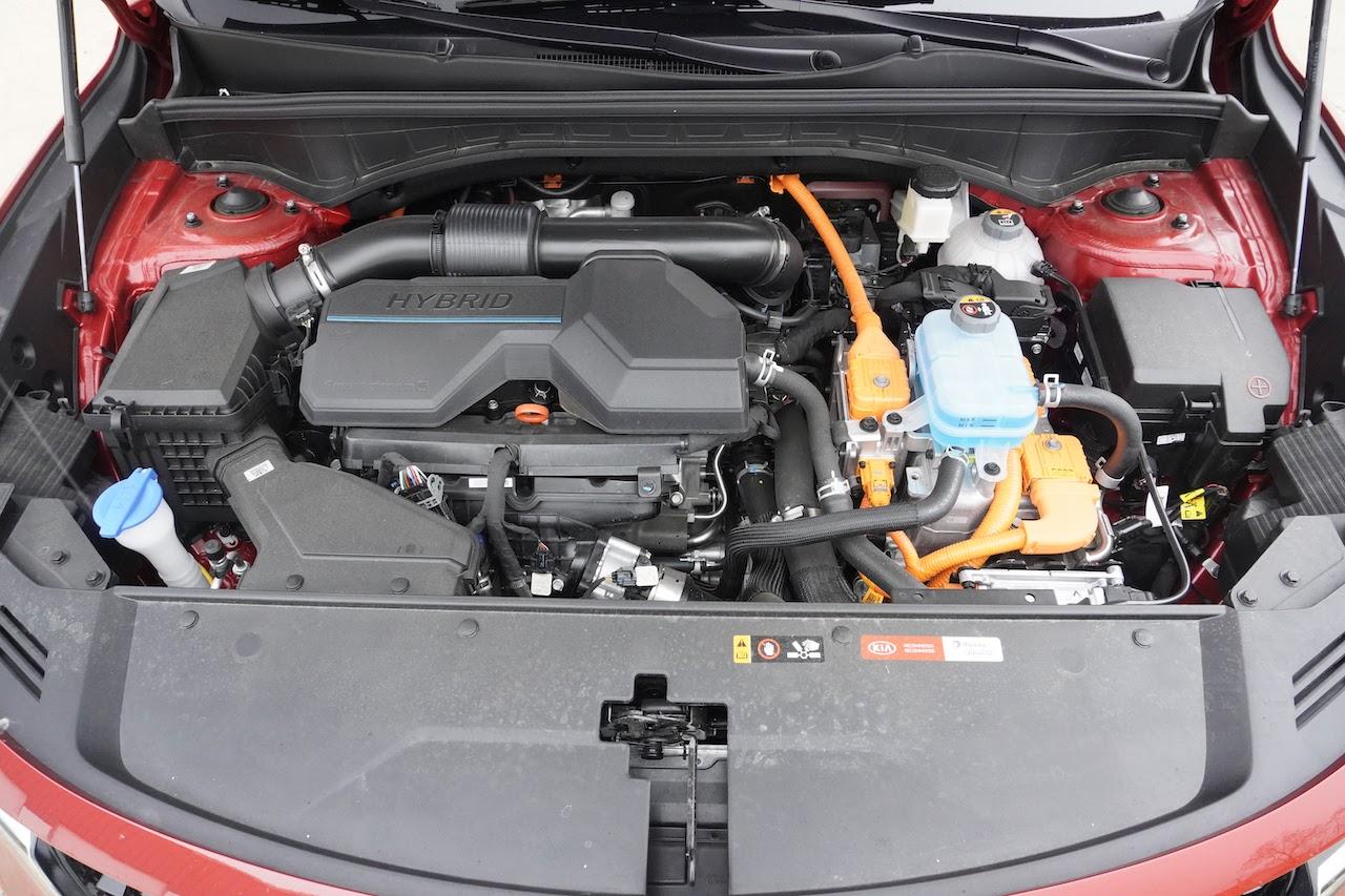 2021 Kia Sorento Hybrid EX engine