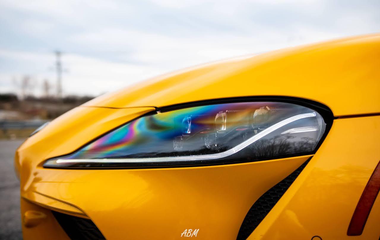 Nitro Yellow 2021 Toyota Supra