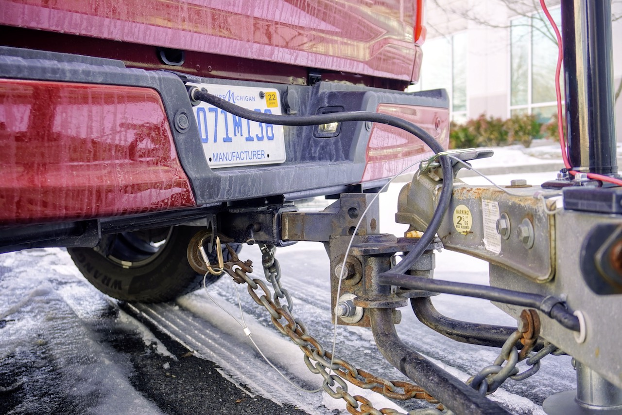 2021 Ford F-150 PowerBoost towing