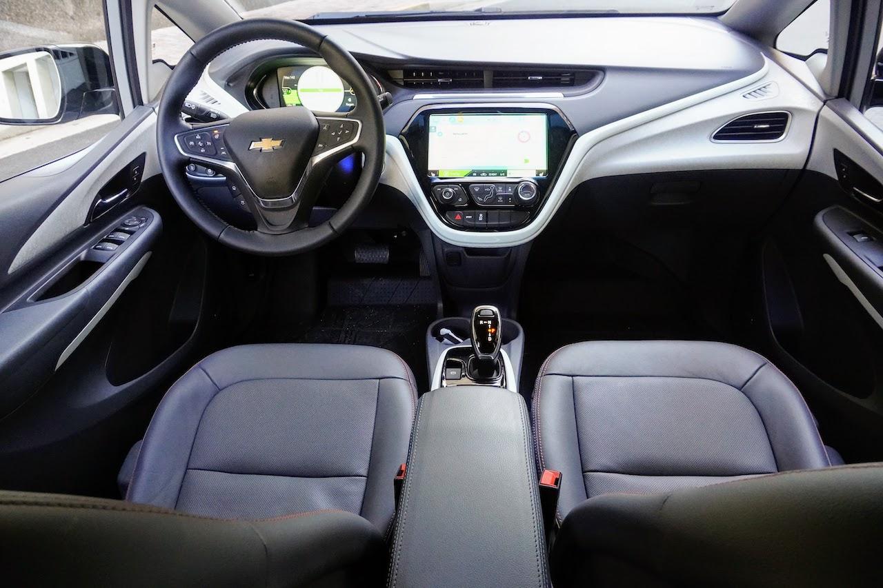 2020 Chevy Bolt EV interior gray