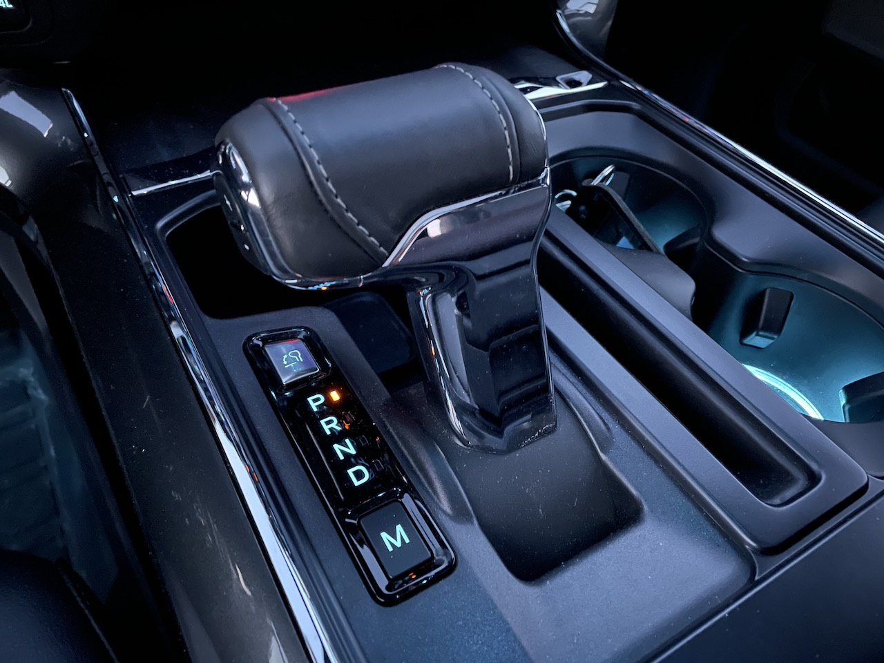 2021 Ford F-150 PowerBoost folding shifter