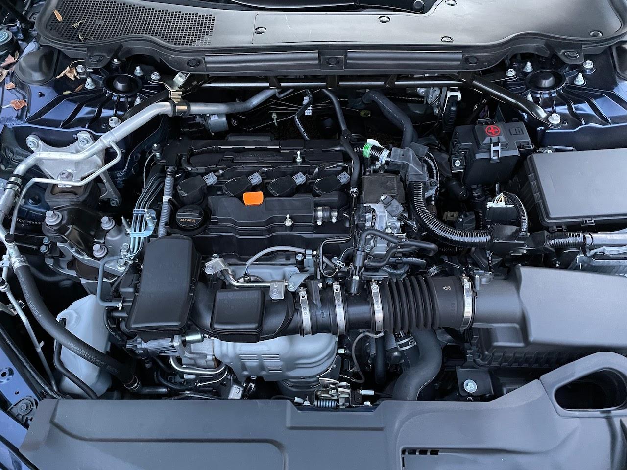 2021 Acura TLX 2.0 engine