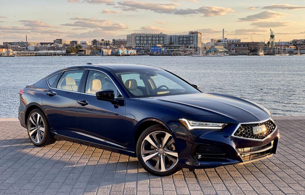 2021 Acura TLX Fathom Blue