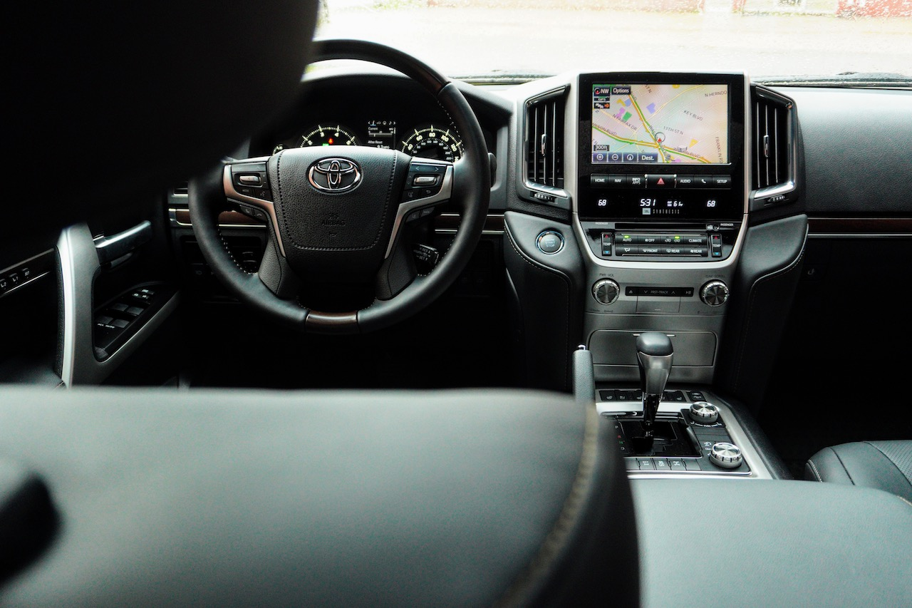 2021 Toyota Land Cruiser Heritage Edition black interior