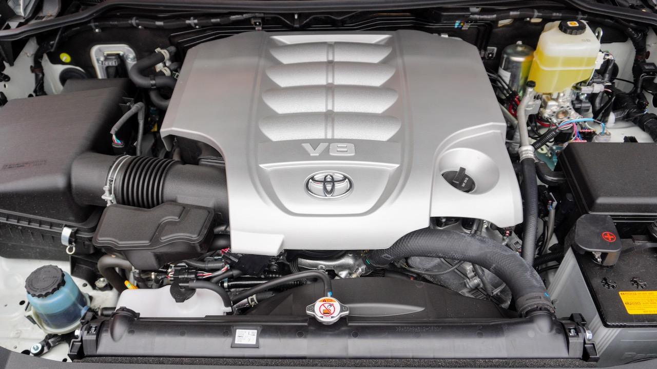 2021 Toyota Land Cruiser Heritage Edition engine