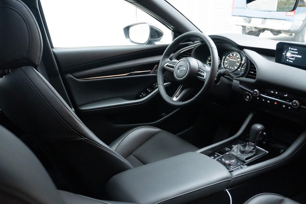 2021 Mazda3 Turbo black interior