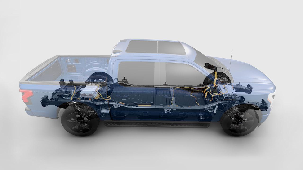 2021 Ford F-150 Lightning EV