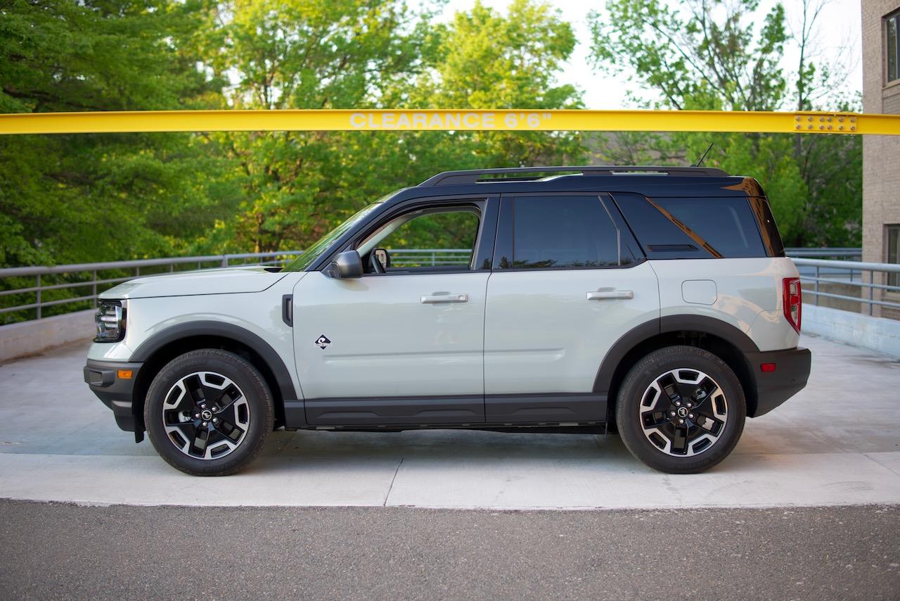 2021 Ford Bronco Sport cactus gray