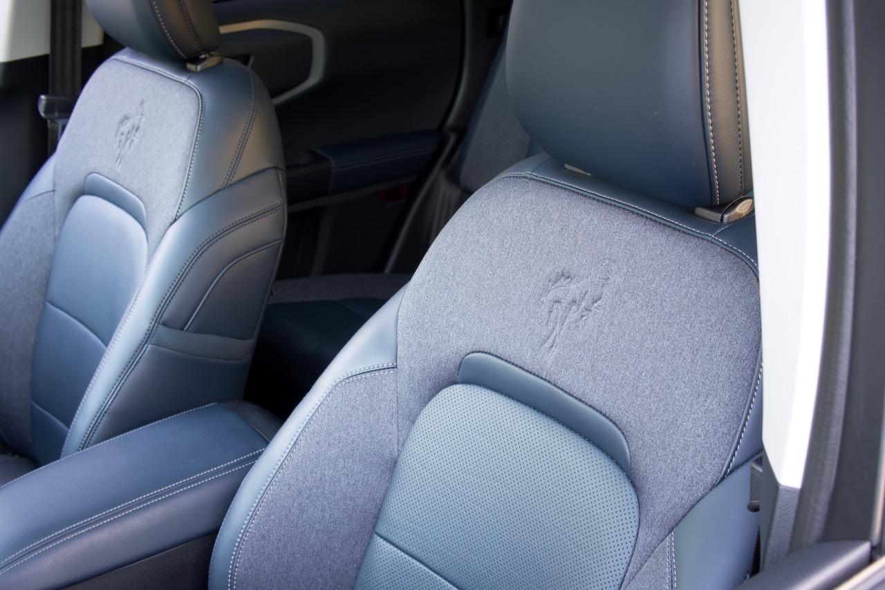 2021 Ford Bronco Sport navy pier seats