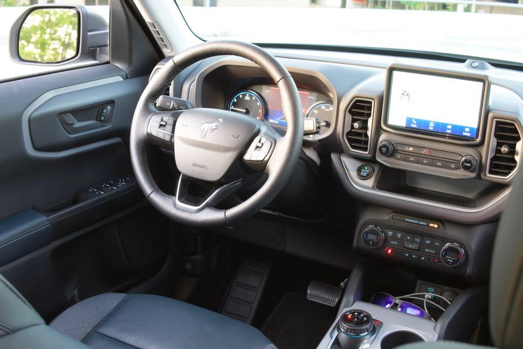 2021 Ford Bronco Sport navy pier interior