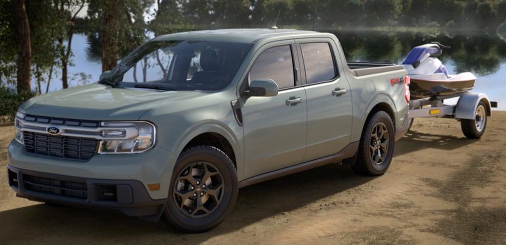 2022 Ford Maverick Lariat Cactus Grey