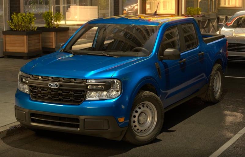 2022 Ford Maverick XL Velocity Blue