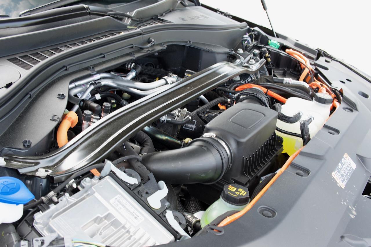 2021 Lincoln Aviator PHEV engine