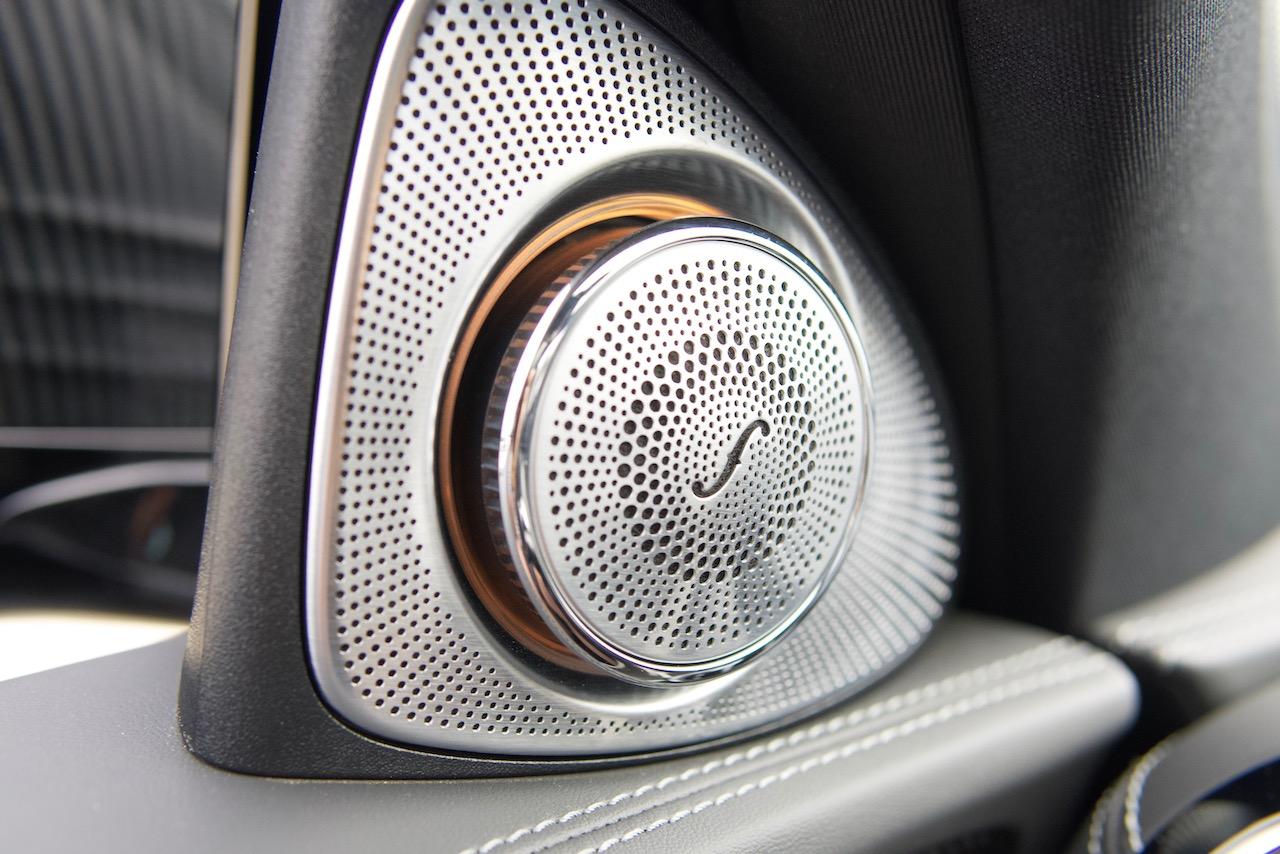 2021 Mercedes-AMG E63 S Burmester speaker tweeter