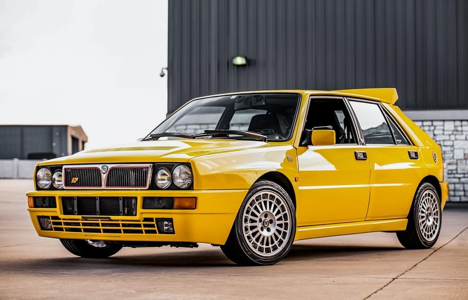 Giugiaro designed Lancia Integrale