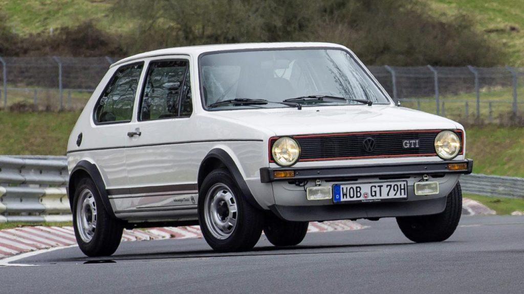 Giugiaro designed VW Golf