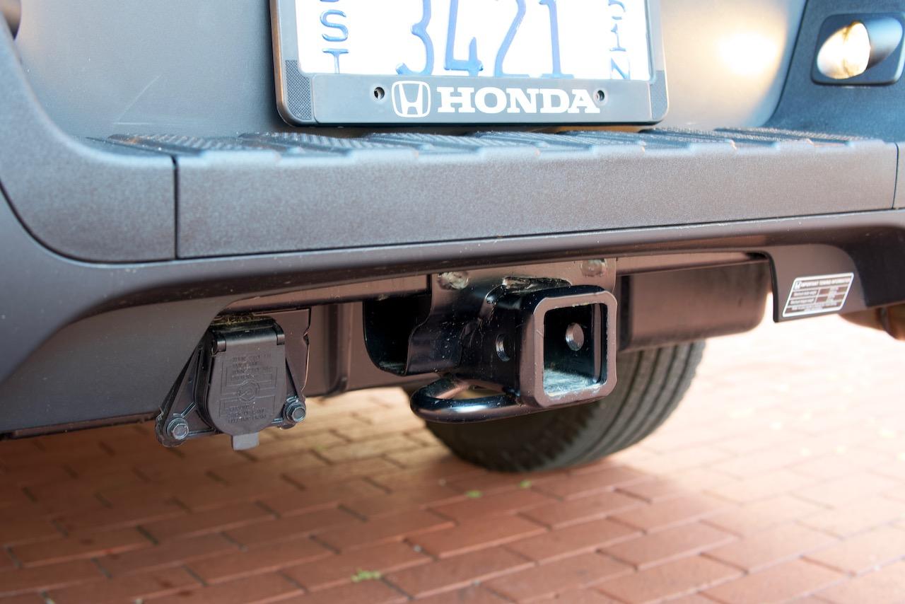 2021 Honda Ridgeline trailer hitch