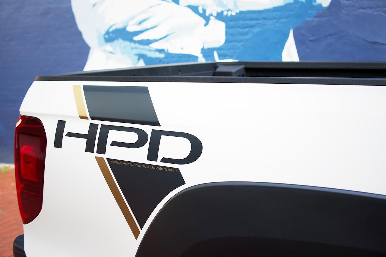 2021 Honda Ridgeline HPD decal