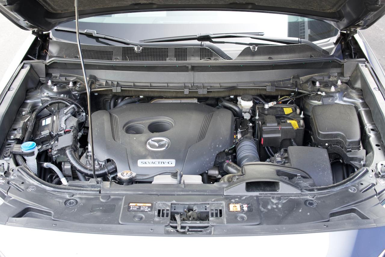 2021 Mazda CX-9 Signature engine