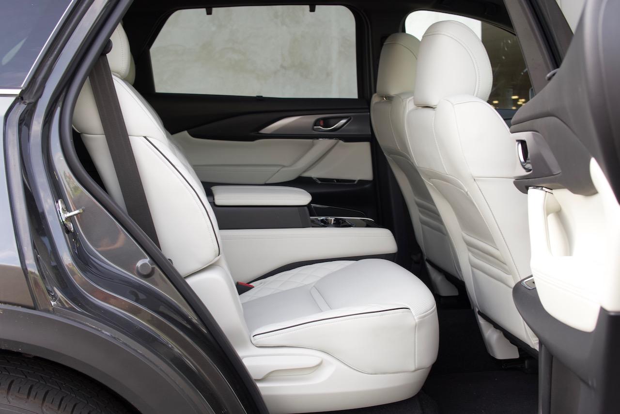 2021 Mazda CX-9 Signature second row