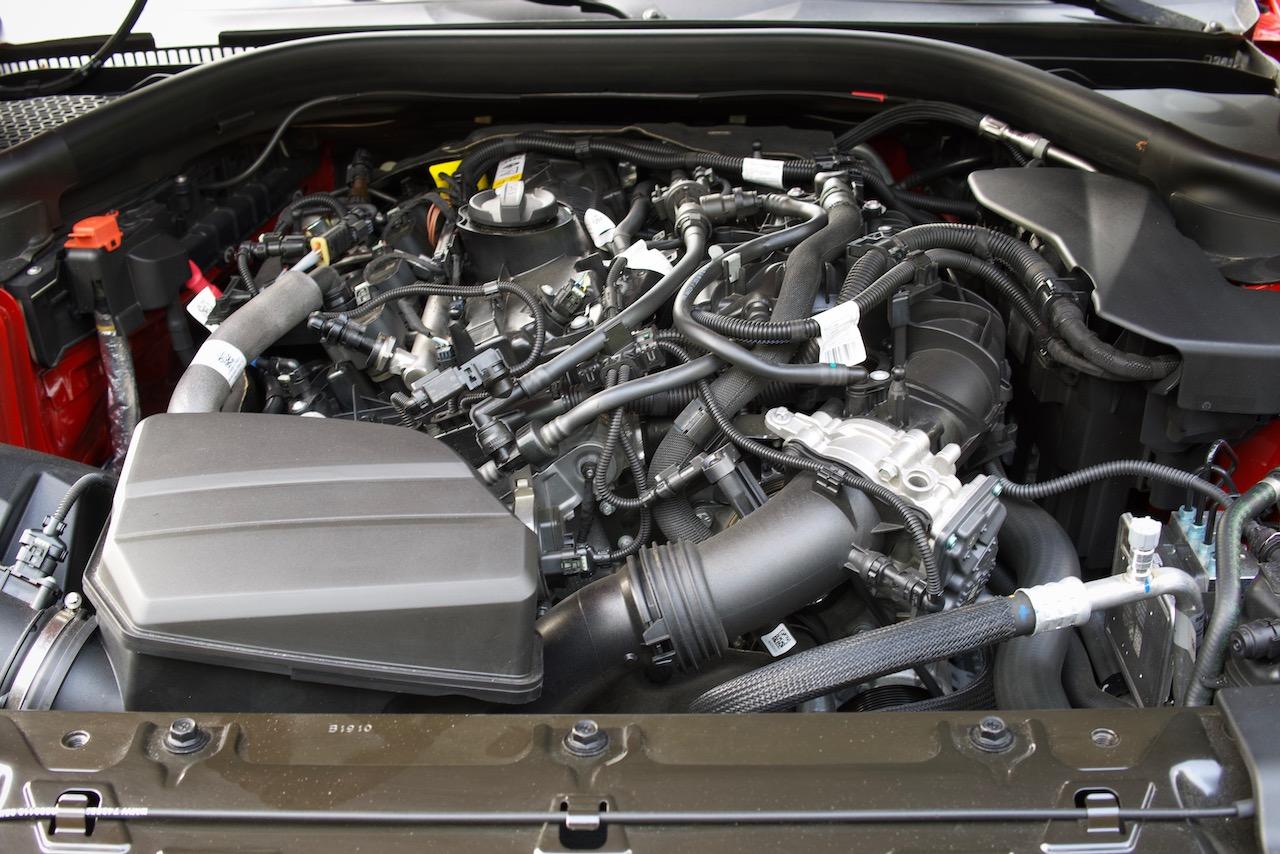 2021 Toyota Supra 2.0 engine
