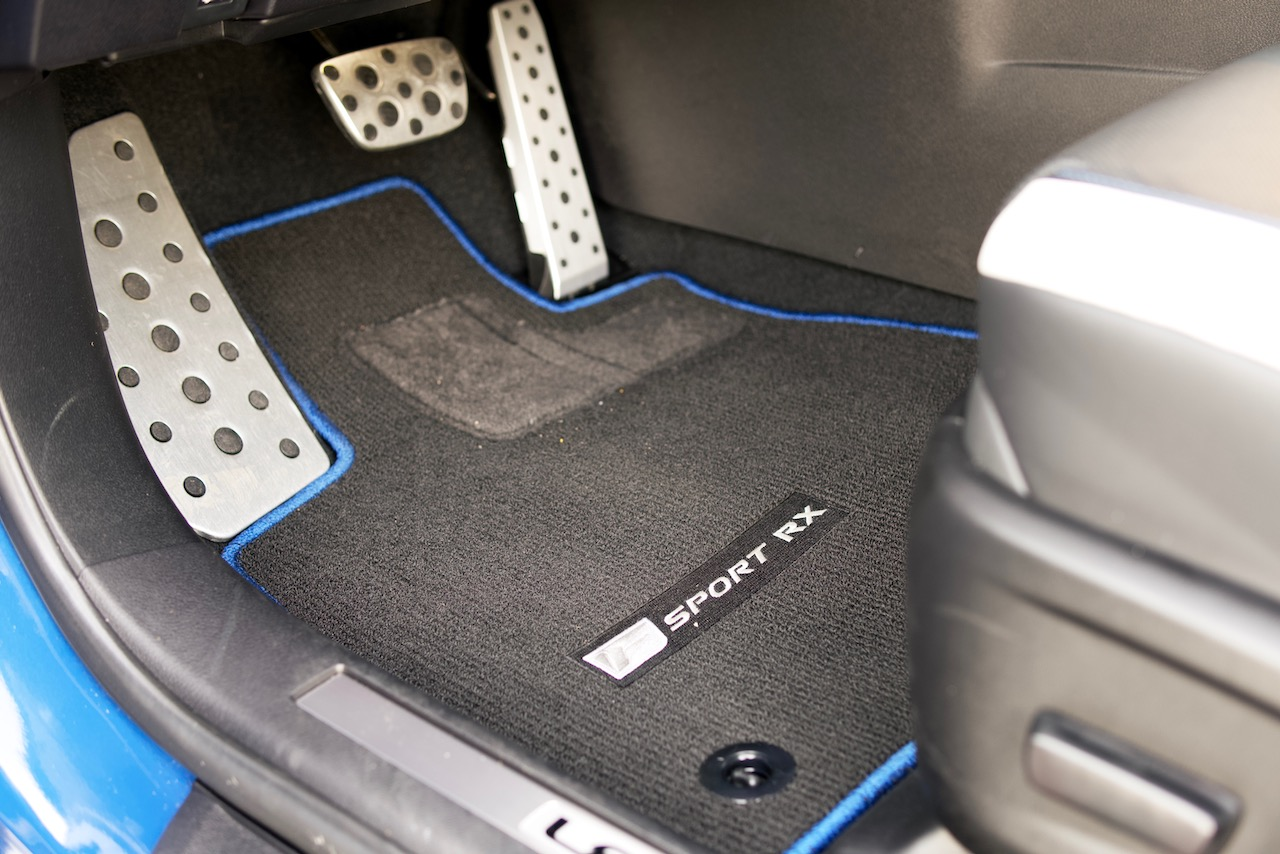 2021 Lexus RX 350 F-Sport Black Line floor mat