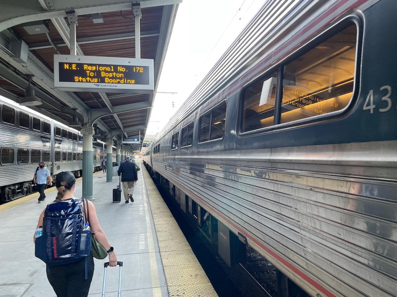 Amtrak train washington dc to philadelphia pennsylvania