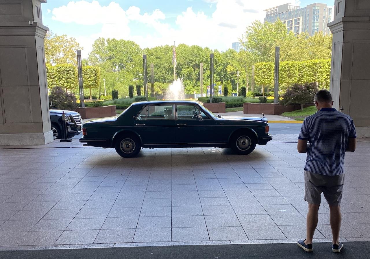 green 1994 Rolls Royce