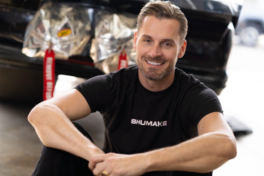 Travis Shumake gay Funny Car racing driver