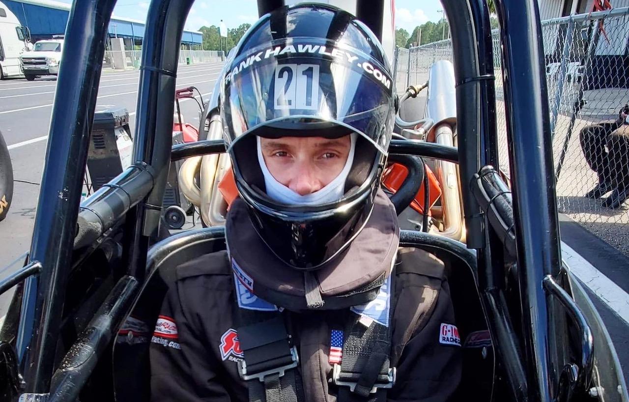 Travis Shumake NHRA racer LGBT