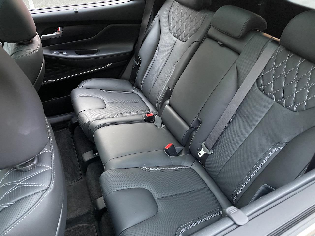 2021 Hyundai Santa Fe 2.5T Calligraphy back seat