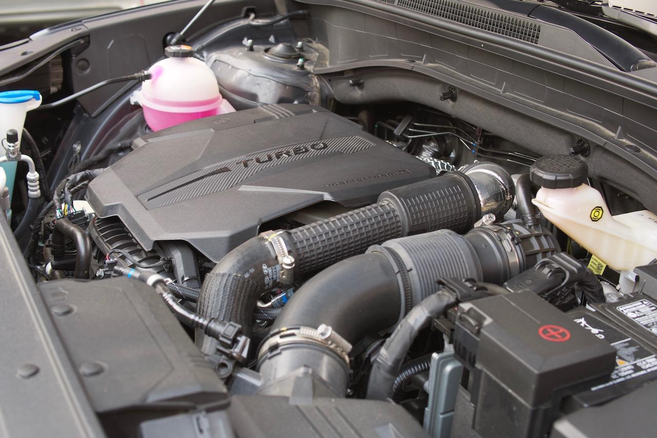 2021 Hyundai Santa Fe 2.5T Calligraphy engine