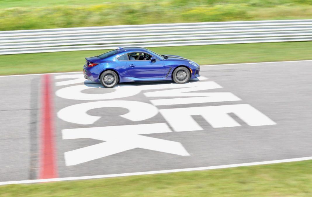 2022 Subaru BRZ blue Lime Rock