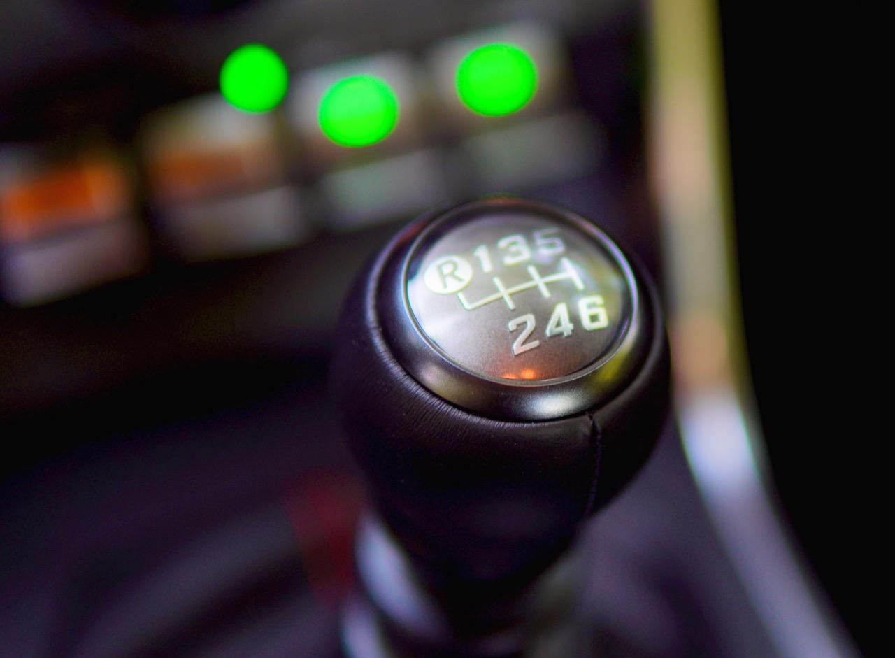 2022 Subaru BRZ manual transmission
