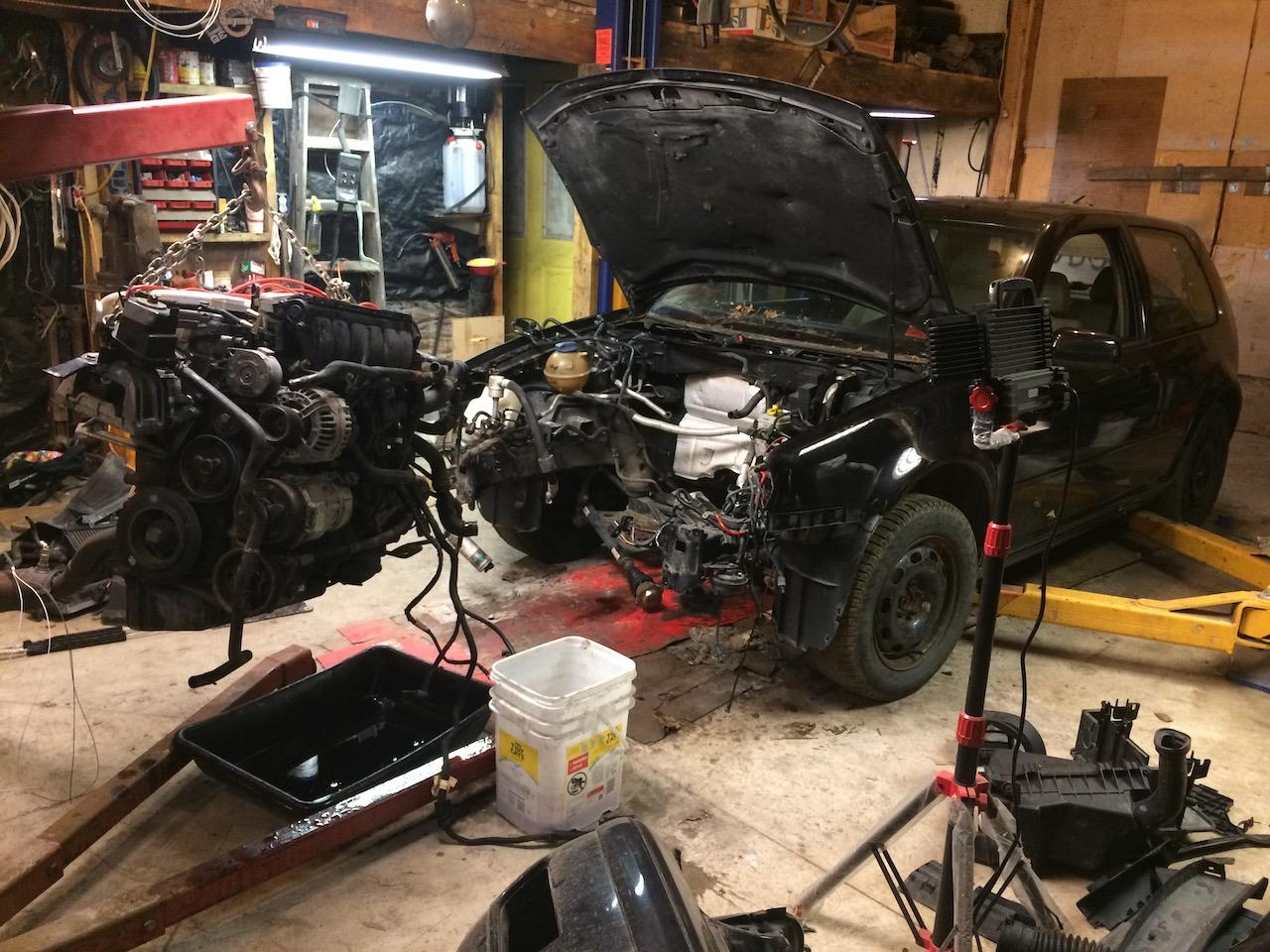 Mk4 VW GTI 12 valve VR6